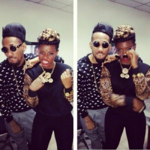 Yemi Alade's secret romance with rapper Phyno has been exposed after a hacker got access into her Instagram account some hours ago. The hacker has been uploading messages between the two entertainers. The last post is from Yemi's manager Taiye confirming the hack.